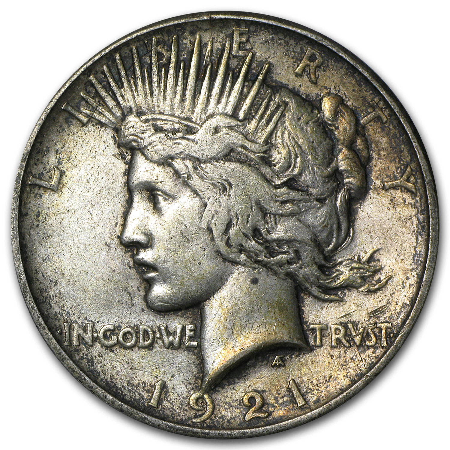 1921 Peace Dollar XF (High Relief)